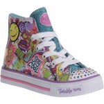 SKECHERS Girls' Twinkle Toes Shuffles Trendy Talk Shoes - view number 2