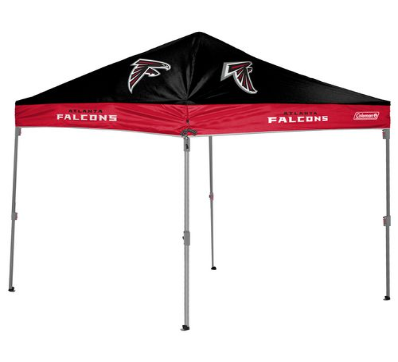 Coleman® Atlanta Falcons 10u0027 x 10u0027 Straight-Leg Canopy  sc 1 st  Academy Sports + Outdoors & NFL Canopies | Academy