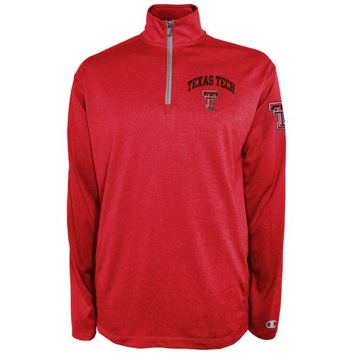 Champion™ Men's Texas Tech University Victory 1/4 Zip Pullover