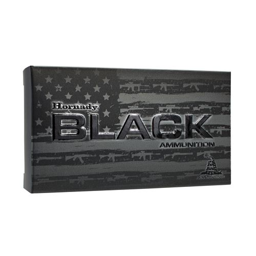 Hornady A-MAX® BLACK™ .300 Blackout 208-Grain Rifle Ammunition