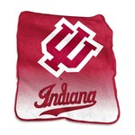 Logo Indiana University 50 in x 60 in Raschel Throw - view number 1