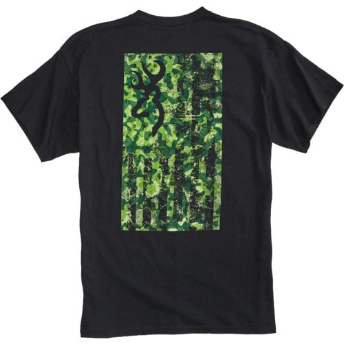 Browning Men's Flag Short Sleeve T-shirt - view number 4