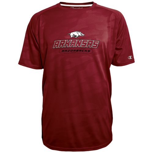 Champion™ Men's University of Arkansas Impact Embossed T-shirt - view number 1