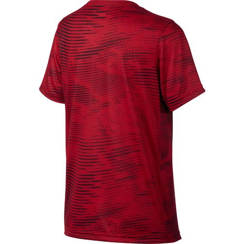 Nike Boys' Dry Carbon Swoosh Short Sleeve T-shirt - view number 2
