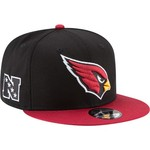 New Era Men's Arizona Cardinals 9FIFTY Baycik Snapback Cap - view number 3