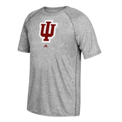 adidas Men's Indiana University School Logo Ultimate T-shirt - view number 1