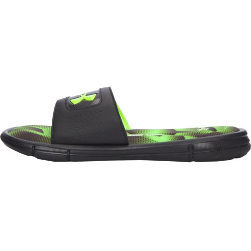 Under Armour Boys' Ignite Banshee III Slides - view number 6