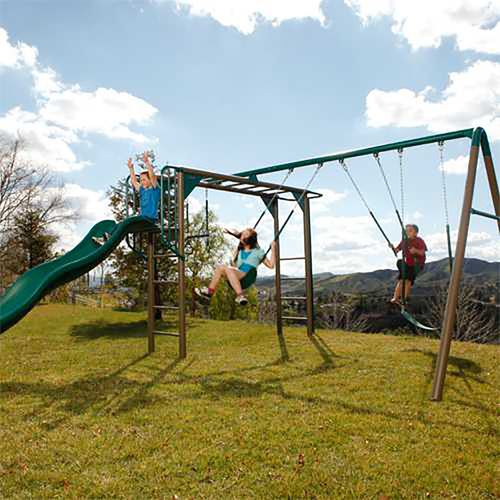 Lifetime Monkey Bar Swing Set - view number 3