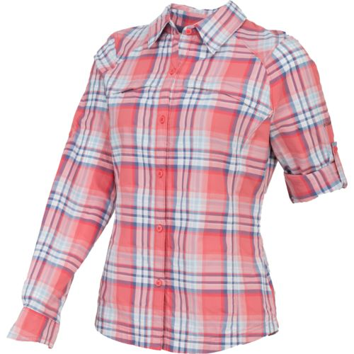 Columbia Sportswear Women's Silver Ridge Plaid Long Sleeve Shirt