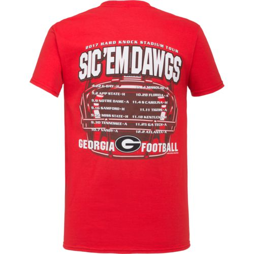 Display product reviews for New World Graphics Men's University of Georgia Football Schedule '17 T-shirt