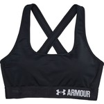 Under Armour Women's Mid Crossback Sports Bra - view number 4