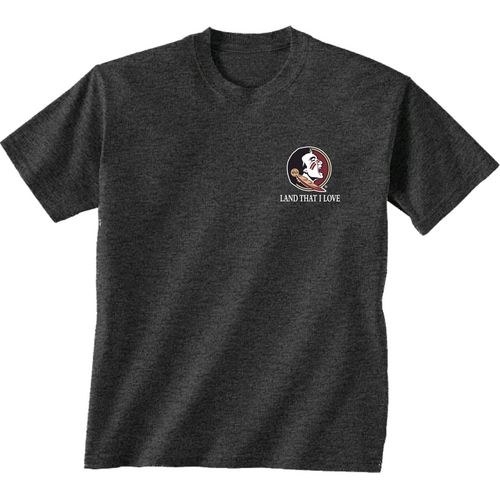 New World Graphics Men's Florida State University Flag Glory T-shirt - view number 2