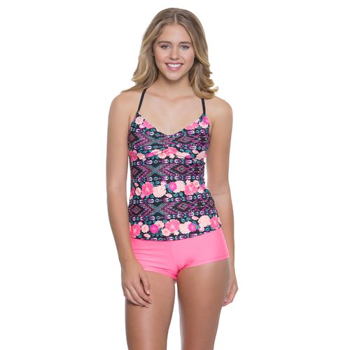 O'Rageous Juniors' Gypsy Dream Tankini Swim Top