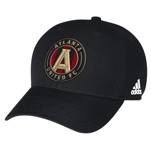 adidas Men's Atlanta United FC Authentic Structured Adjustable Cap