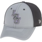 New Era Men's Louisiana State University Grayed Out Neo 39THIRTY Cap - view number 2