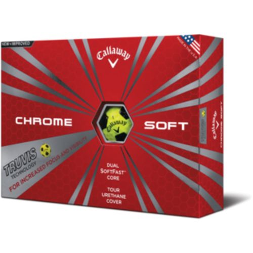 Display product reviews for Callaway Chrome Soft 2016 Truvis Golf Balls 12-Pack