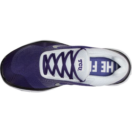 Nike Men's Texas Christian University Free Trainer V7 Week Zero Training Shoes - view number 5