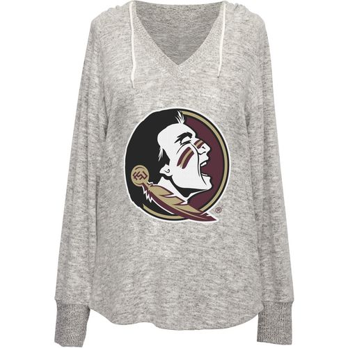 Chicka-d Women's Florida State University V-neck Hoodie