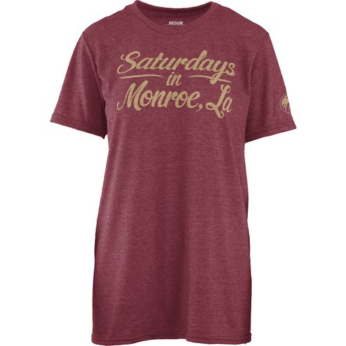 Three Squared Juniors' University of Louisiana at Monroe Saturday T-shirt