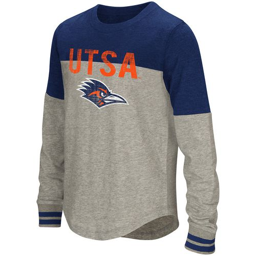 Colosseum Athletics Girls' University of Texas at San Antonio Baton Long Sleeve T-shirt