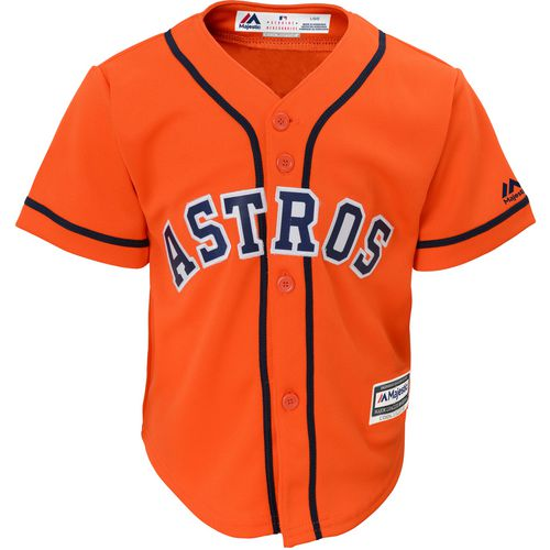 Majestic Toddlers' Houston Astros COOL BASE Jersey