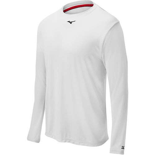 Mizuno Men's Comp Long Sleeve Baseball Crew Shirt