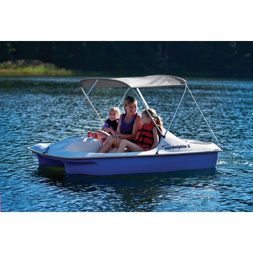 Sun Dolphin 5-Seat Pedal Boat with Canopy - view number 4