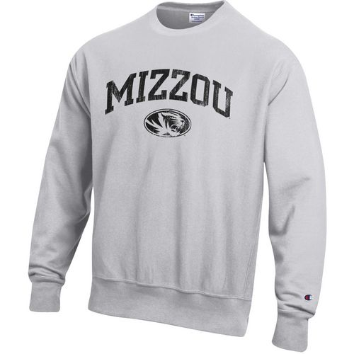 Champion Men's University of Missouri Reverse Weave Crew Sweatshirt