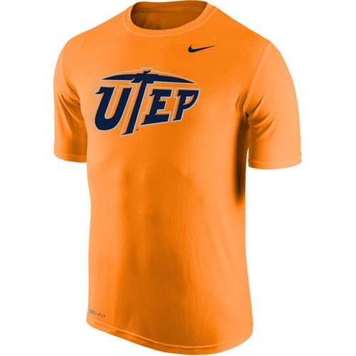 Nike Men's University of Texas at El Paso Dri-FIT Legend 2.0 Short Sleeve T-shirt