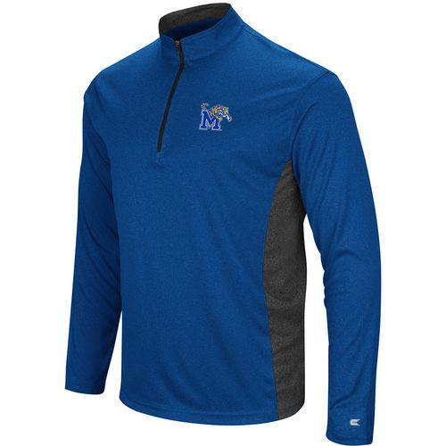 Colosseum Athletics Men's University of Memphis Audible 1/4 Zip Windshirt