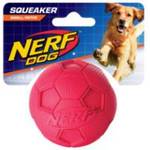 NERF Dog 3.25 in Soccer Squeak Ball