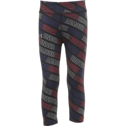 Under Armour Girls' Wordmark Capri Pant
