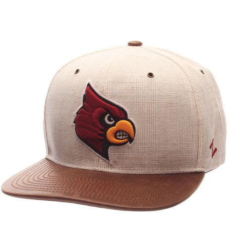 Zephyr Men's University of Louisville Havana Flat 2-Tone Cap