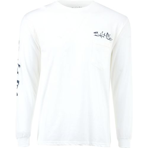 Display product reviews for Salt Life Men's Stars and Stripers Long Sleeve T-shirt