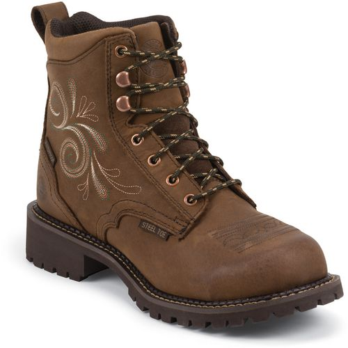 Display product reviews for Justin Women's Katerina Waterproof Steel Toe Work Boots