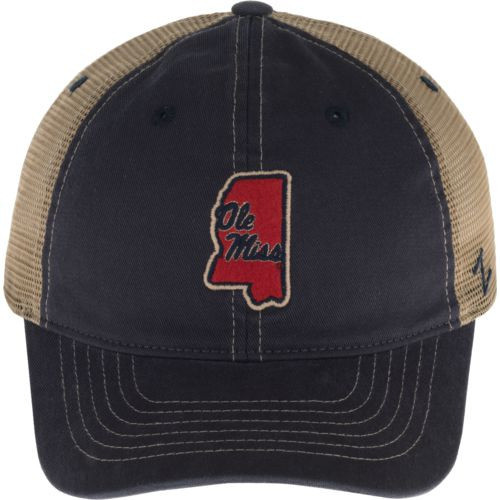 Zephyr Men's University of Mississippi Turnpike State Cap