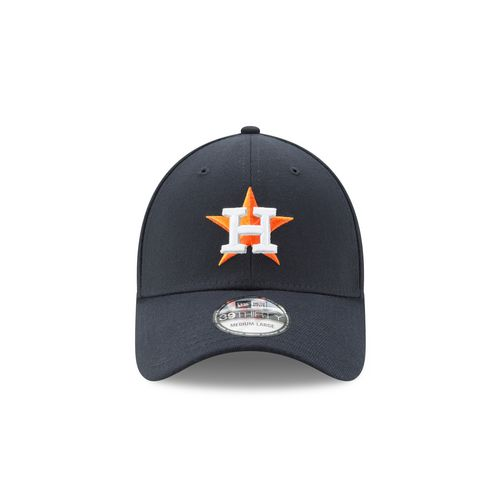 New Era Men's Astros Postseason Side Patch 3930 Flex Cap