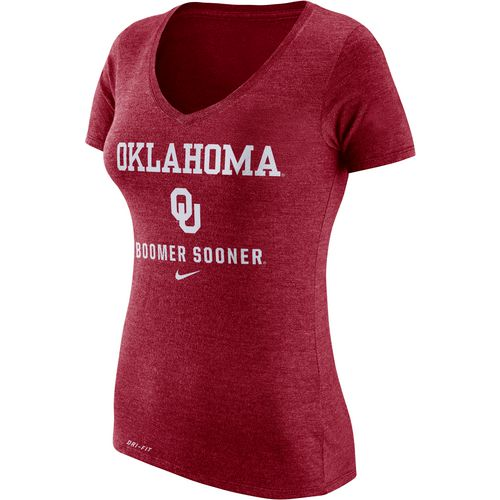 Nike Women's University of Oklahoma Dri-Blend Franchise T-shirt