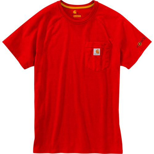 Display product reviews for Carhartt Men's Force Cotton Short Sleeve T-shirt