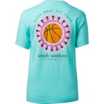 Simply Southern Women's Basketball T-shirt - view number 2
