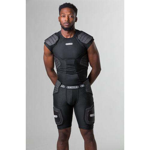 Battle Men's Integrated Compression Football Top