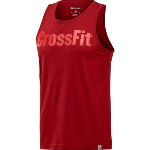 Reebok Men's CrossFit Logo Tank Top - view number 3