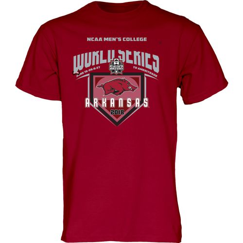 Blue 84 Men's University of Arkansas College World Series 2018 T-Shirt