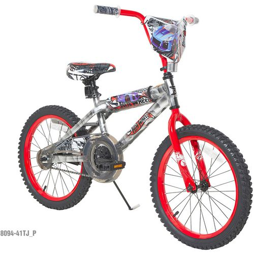 Dynacraft Boys' Hot Wheels 18 in BMX Bicycle