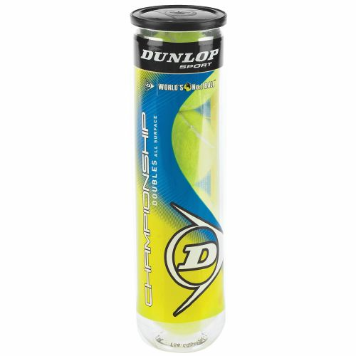 Dunlop Championship All-Court Tennis Balls 1 Can/4-Pack