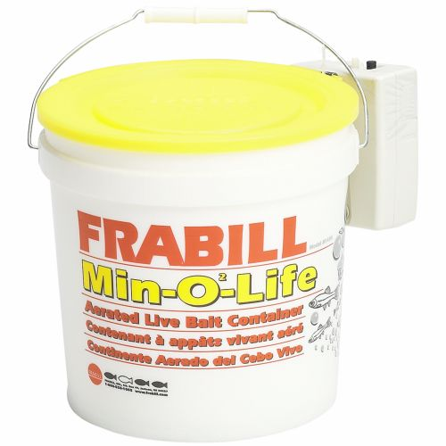 Frabill Min-O2-Life 8 qt. Aerated Bucket