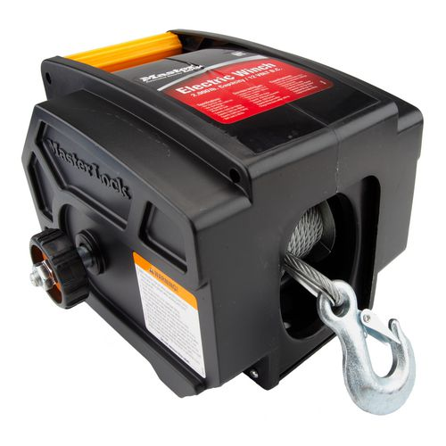 Display product reviews for Master Lock™ Portable 12V Electric Winch