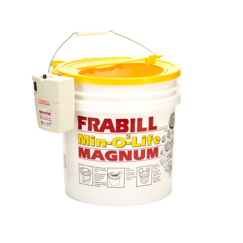 Frabill Min-O2-Life 4.25-Gallon Aerated Bucket