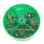 Eagle Claw Non-Lead Bass Casting Sinkers 24-Pack - view number 1