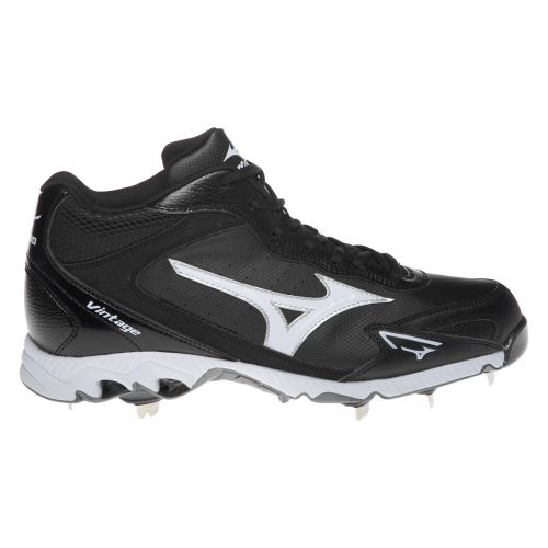 Mizuno Men's 9-Spike™ Vintage G6 Metal Mid Metal Baseball Cleats